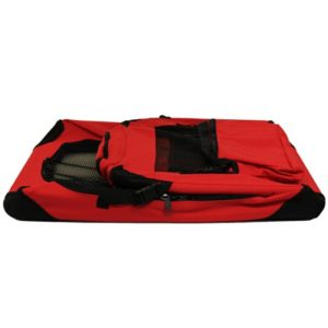 MoolCollapsed portable fabraic dog travel crates