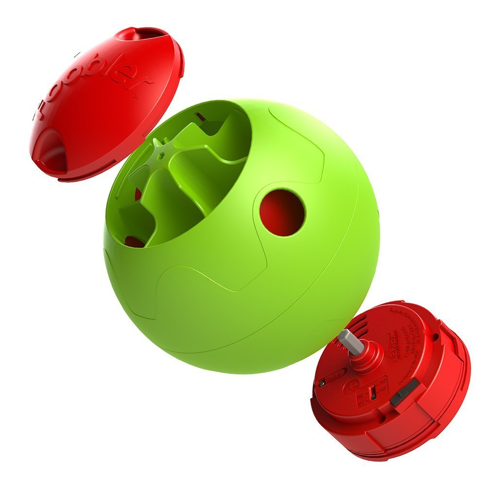 FOOBLER Electronic Dog Treat Dispenser Ball CLEANING