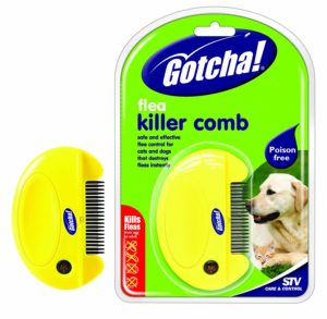 Dog Flea Comb Treatment