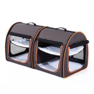 Bets Dog Travel Crate Pawhut 2pc