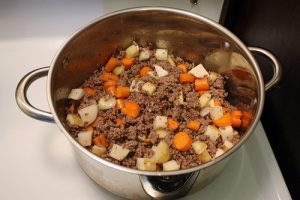 Homemade Dog Food - Beef Stew
