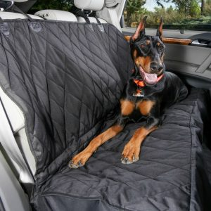 BEST DOG REAR CAR SEAT COVER 4KNINES