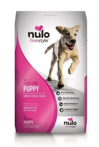 best dry dog food for puppies by Nulo