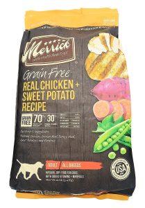 Merrick best dry dog food for medium dogs