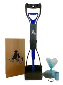 Best long handled pooper scooper by Nomad Pets