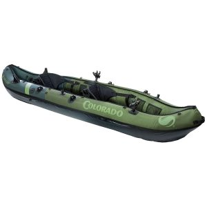 coleman colorado fishing kayak for dogs