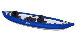 aquaglide inflatable dog kayak