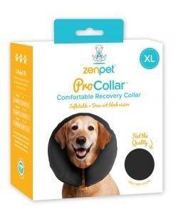 DOG LAMPSHADE COLLAR ALTERNATIVE