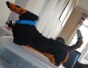 Build Your Own Mini Dachshund with this Mini Lego Set 9