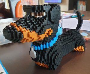 Build Your Own Mini Dachshund with this Mini Lego Set 12
