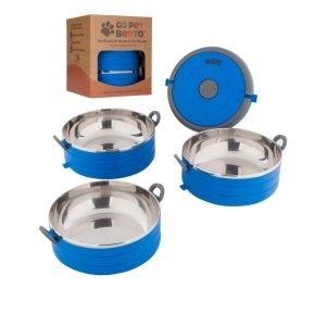 portable dog stainless steel dog bowls