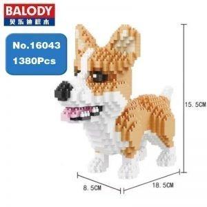 Build Your Own Mini Dachshund with this Mini Lego Set 14