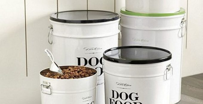 How Can I Make My Dog Food Last Long? Best Airtight Dog Food Storage Containers