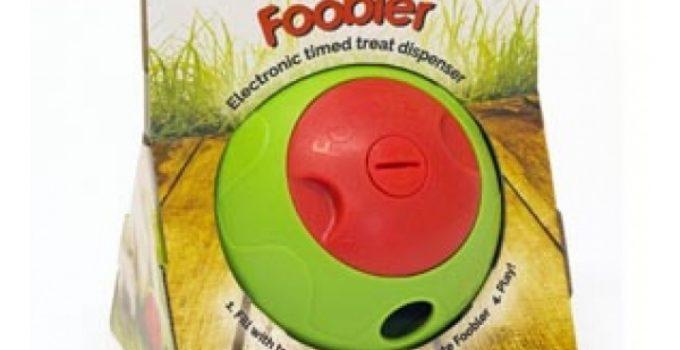FOOBLER Amazing Dog Treat Ball for