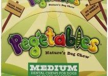 Pegetables Delicious Dog Treats: 6 Amazing Rawhide Alternatives