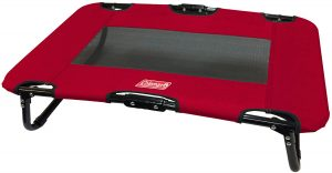 coleman foldable portable dog bed