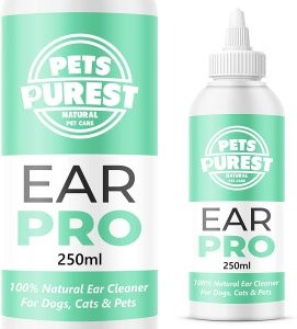 pets purest dog ear cleaner